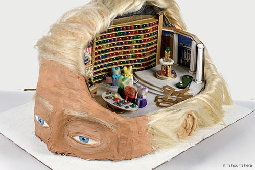Read more about the article Easter Treat: A Peep Inside The Donald's Head