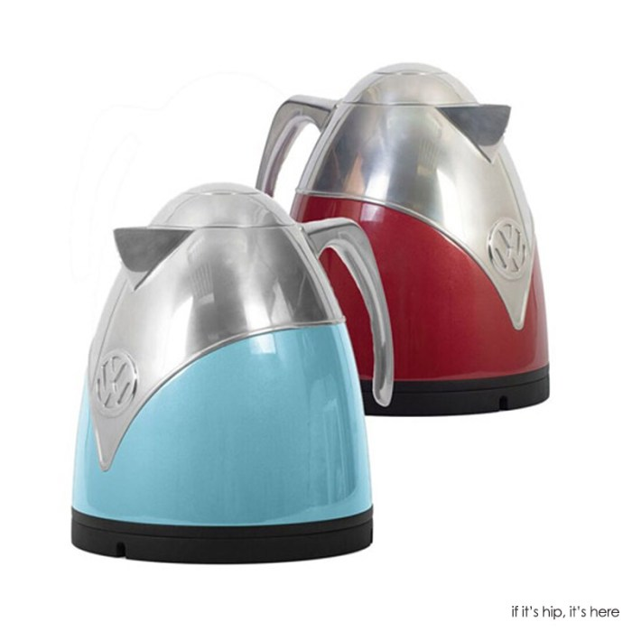 2016 VW tea kettles at if its hip its here