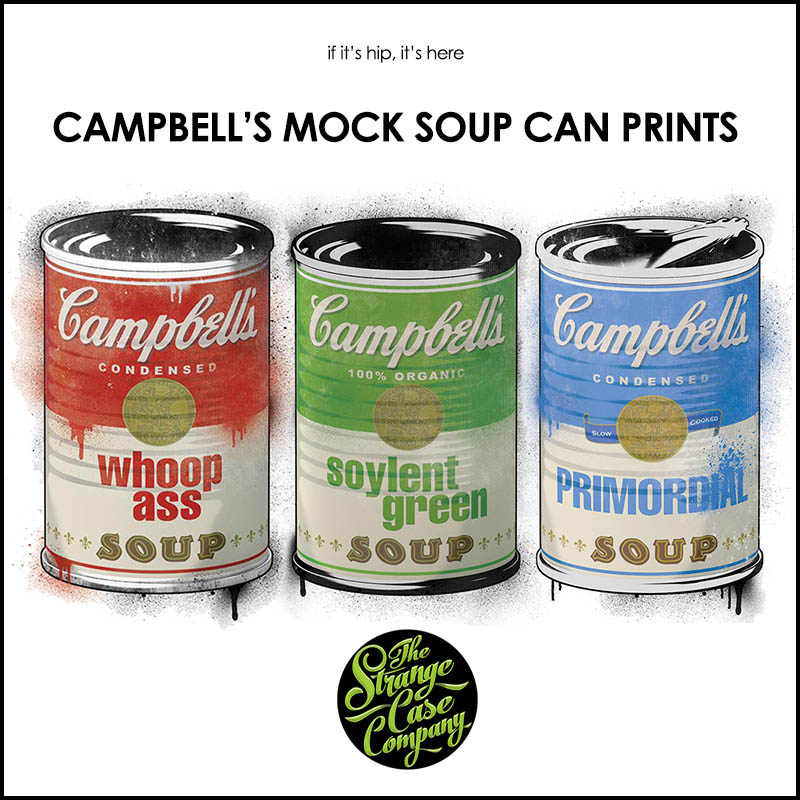CAMPBELL'S MOCK SOUP CAN PRINTS