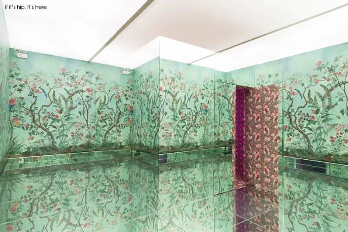 Tian Room at Gucci's No Longer / Not Yet exhibit
