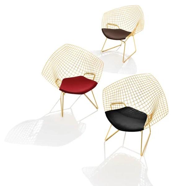 Diamond Bertoia Chair Gold