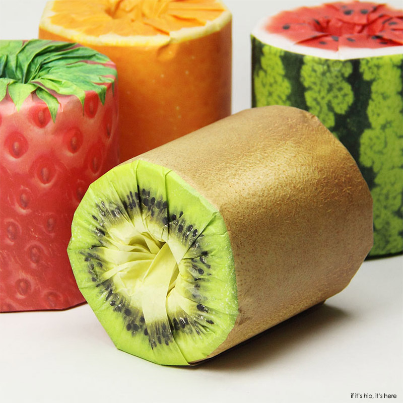Fruits Toilet paper from Japan