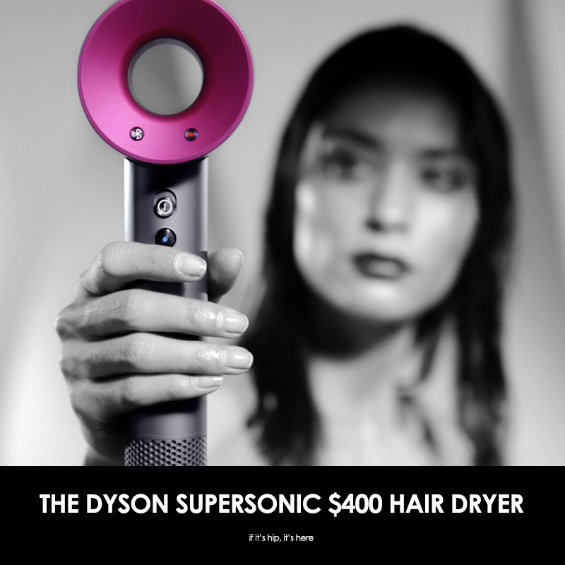 The Dyson Supersonic $400 hair dryer