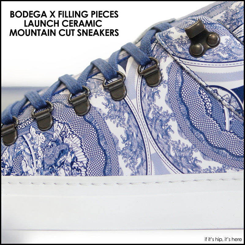 Bodega X Filling Pieces Sneakers