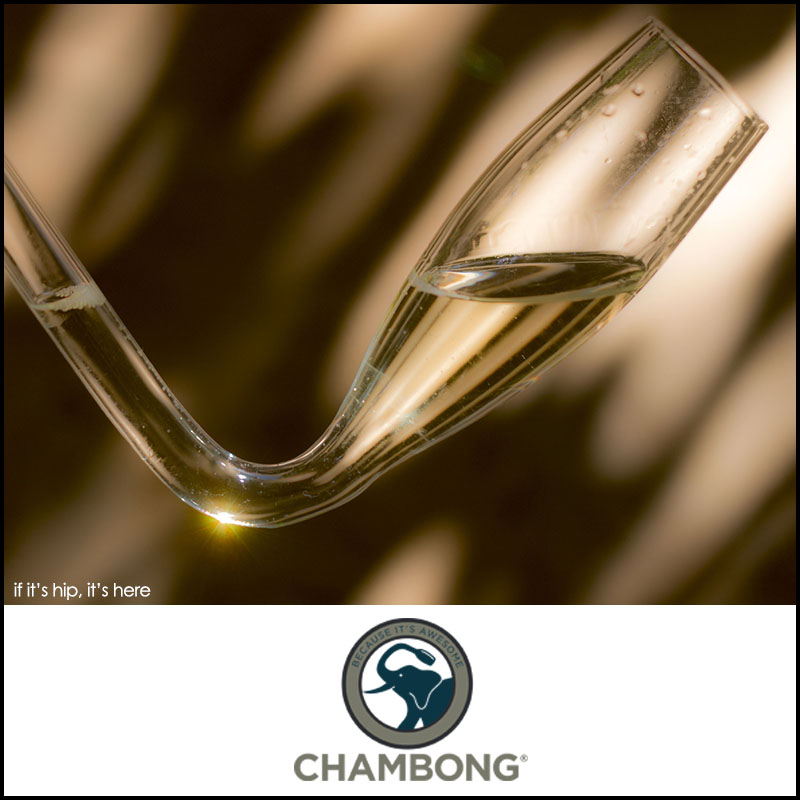 The Chambong for champagne