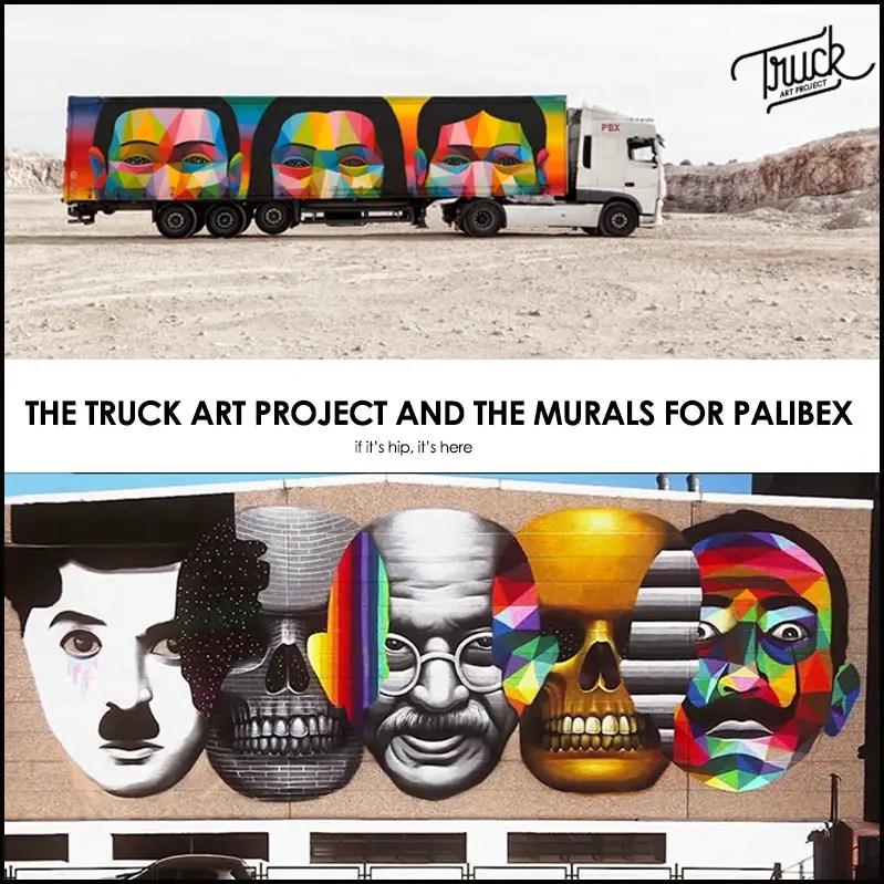 truck art project and Palibex murals