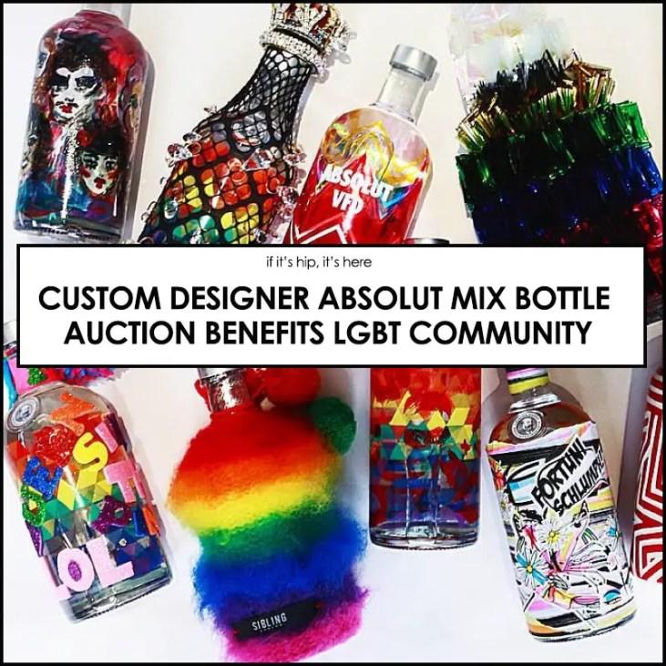 LGBTQIA Abolut bottles