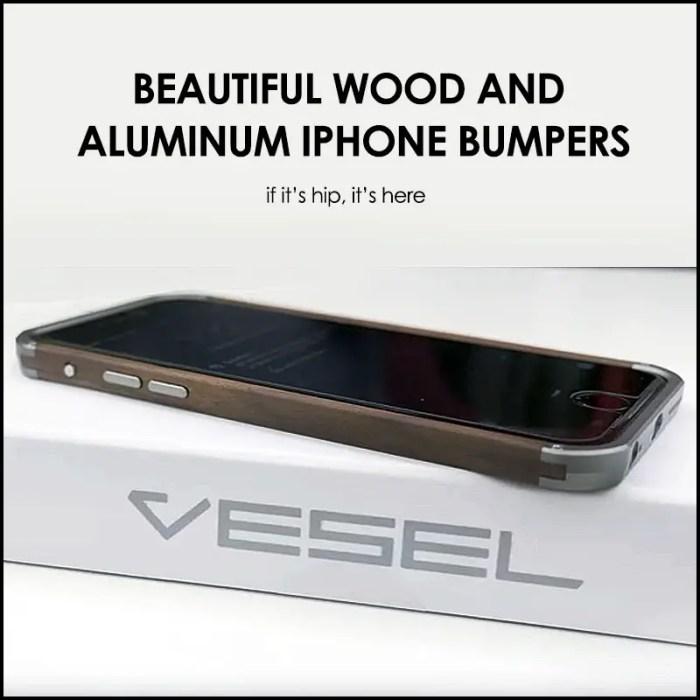 vesel wood series iphone bumpers
