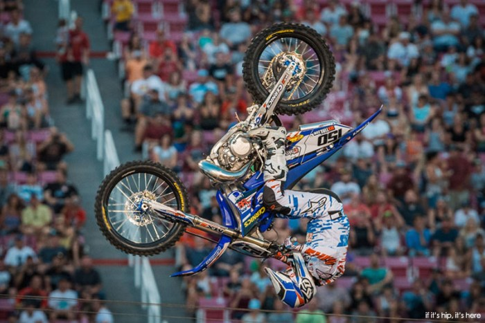 Greg Duffy placed First in the FMX Best Tricks