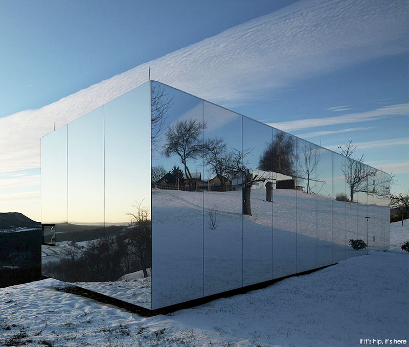 Casa Invisible Mirrored Prefabricated Home Is Available Now