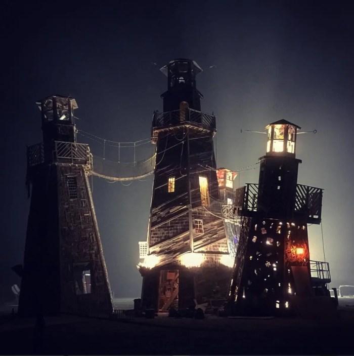 Black Rock Lighthouse Service by Jonny and Max Poynton