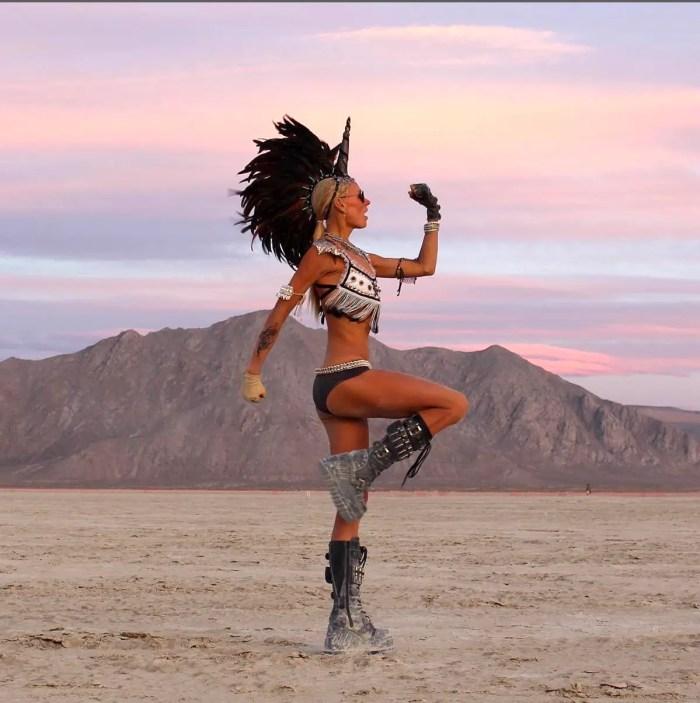best Burning Man instagram pics