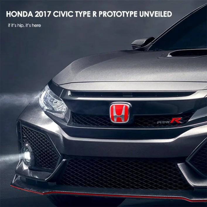 Honda Civic R Prototype Unveiled