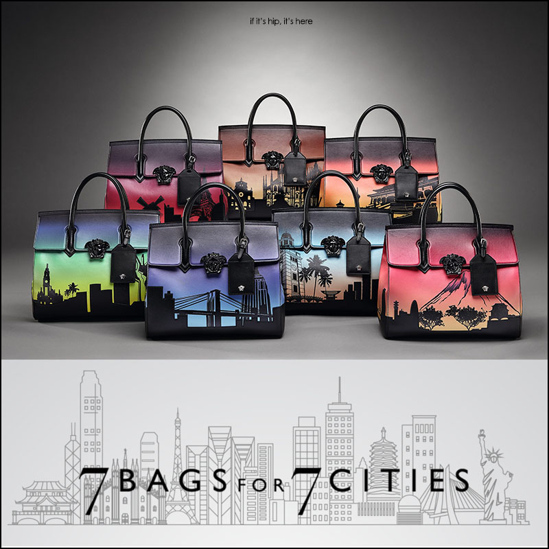 Versace Palazzo Empire: Seven Bags For Seven Cities