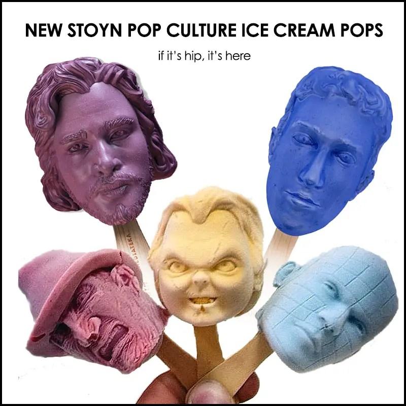 Stoyn Pop Culture Ice Cream Pops