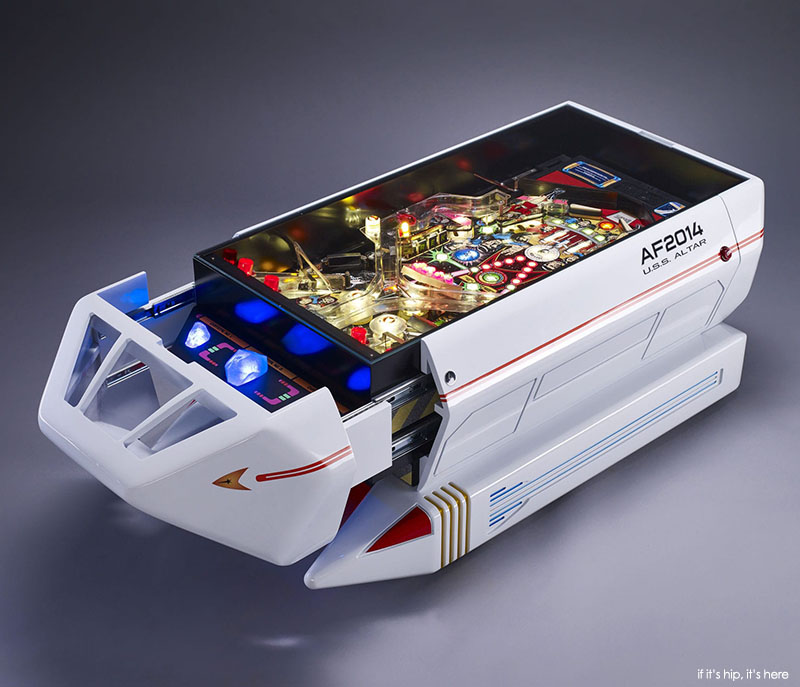Altar Furniture Resurrects Old Pinball Machines And Arcade Games As Unique  Pieces Of Furniture. This Coffee Table, Made To Emulate A Star Trek  Shuttlecraft, ...