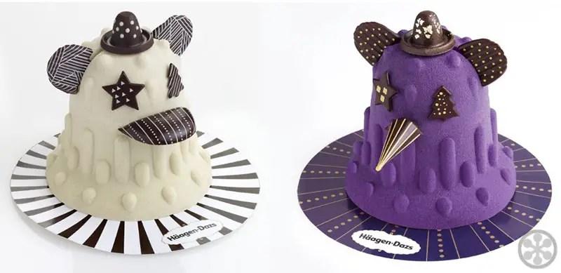 Häagen-Dazs Designer Christmas Ice Cream Cakes