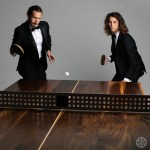 Sean Woolsey's Walnut Wood Ping Pong Table / Dining Table