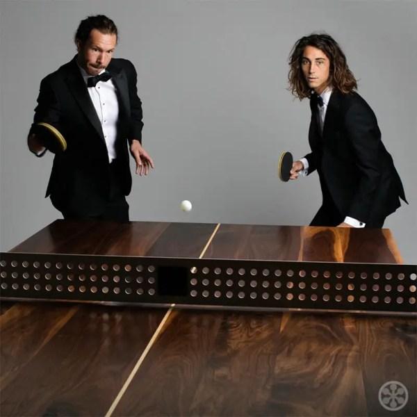 Wood Ping Pong Table