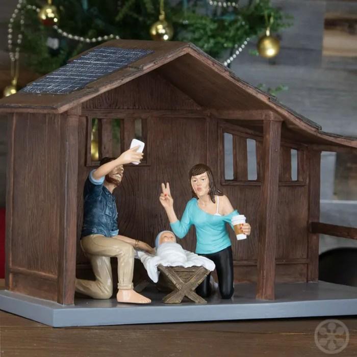 funny nativity sets