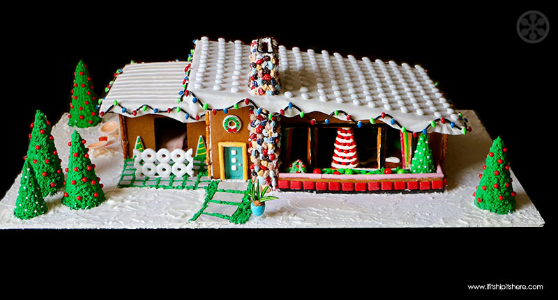 Mid Century Modern Gingerbread House Competition Winners