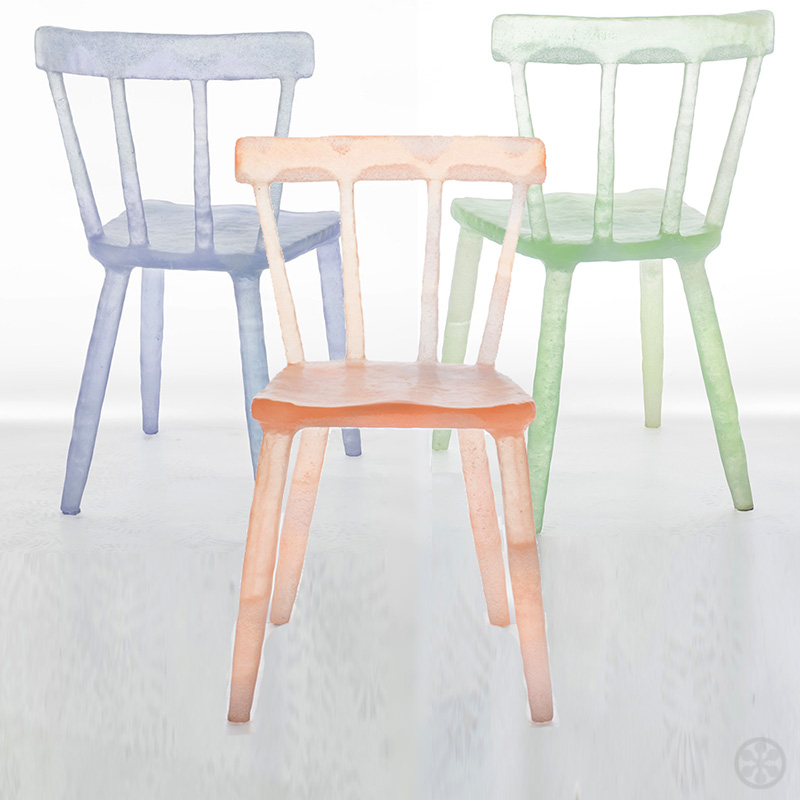 translucent furniture. Translucent And Whimsical, These Chairs Have Been Described As Looking Like Candy, Ice Pops, Gummy Bears, Ice. They\u0027re Handcrafted From Reclaimed Furniture U