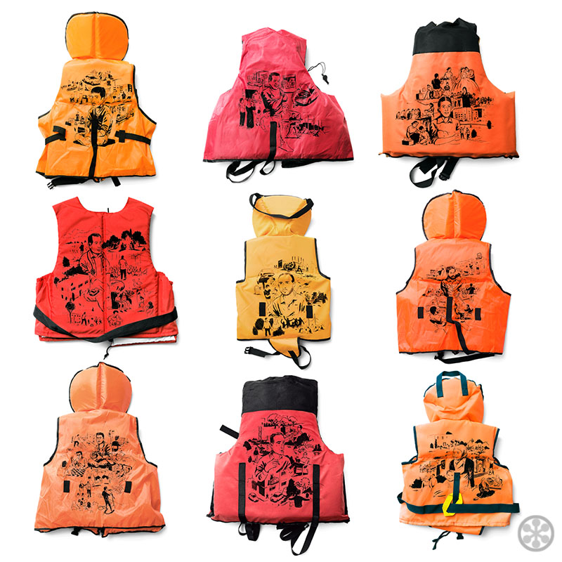 Project Life Jacket Draws Attention to Refugees