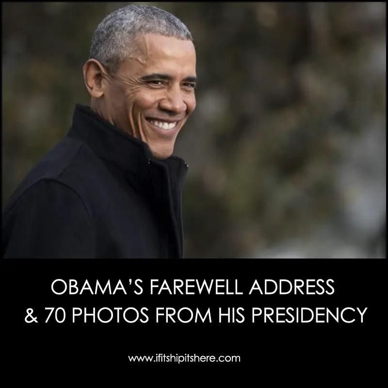 Photos from Obama's presidency