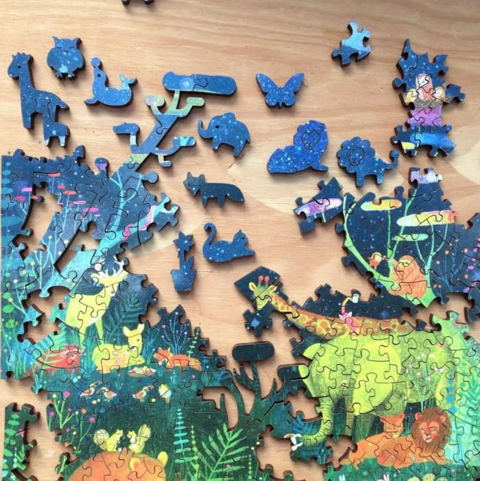 wood lasercut jigsaw puzzles