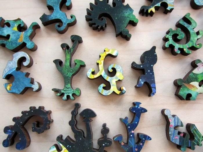 shaped puzzle pieces
