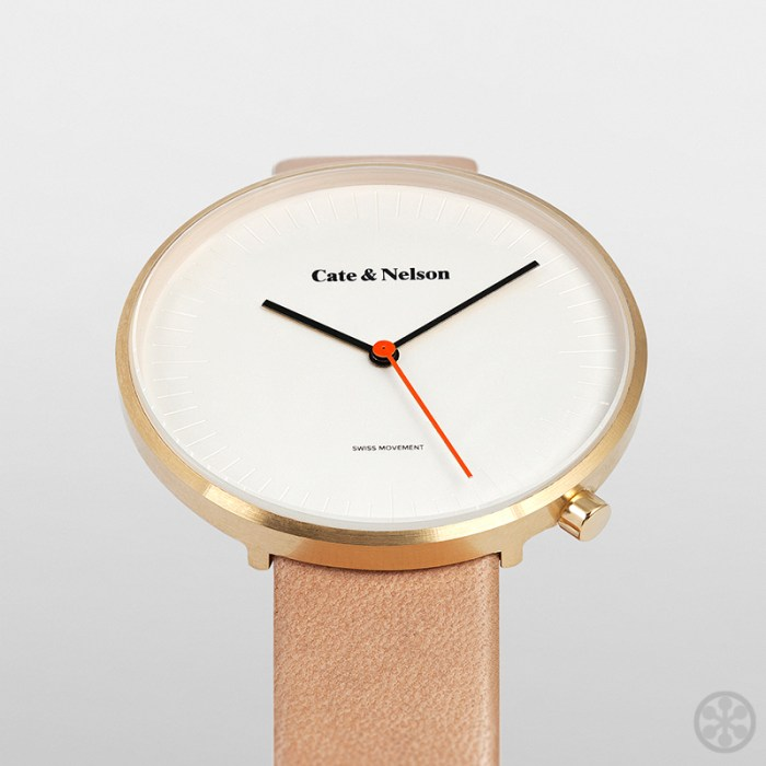 Cate & Nelson unisex watches