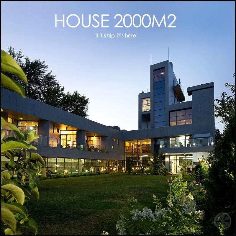 House 2000M2 by Yakusha Design
