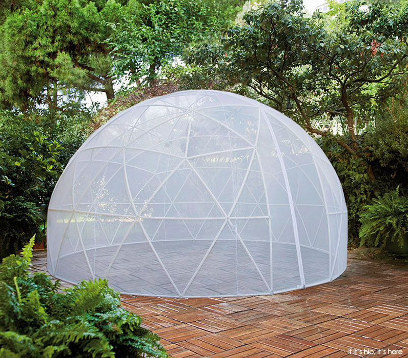 Get your own garden igloo a geodesic dome tent - The garden igloo ...