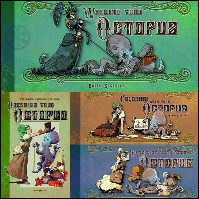 octopus steampunk books