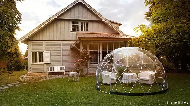outdoor igloo tent