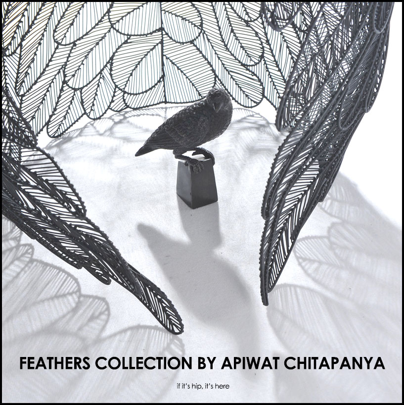 ... The Feather Side Table And Feather Coffee Table By Apiwat Chitapanya  For MASAYA By Asia Collection Co., Ltd Are As Much Sculpture As They Are  Furniture.