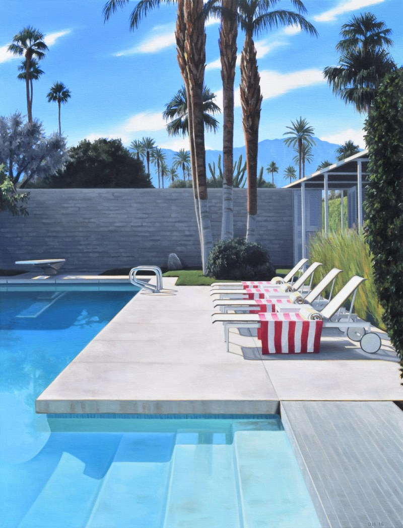 Poolside Lounge Chairs by Danny Heller