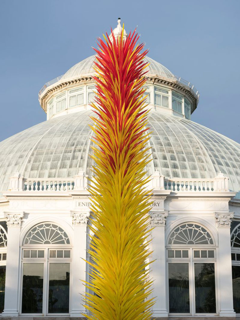 Dale Chihuly At The New York Botanical Garden Photos Of