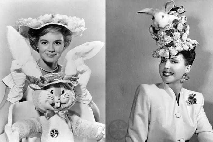 vintage celebrity easter photos