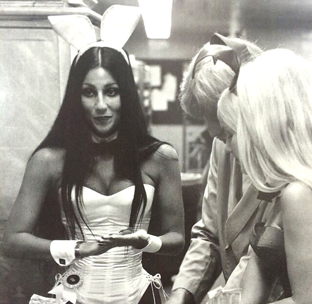 Cher in Bunny outfit