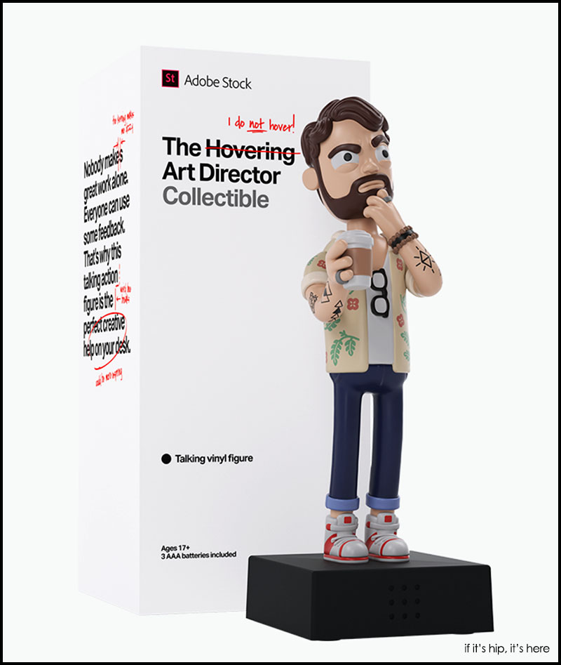 Hovering Art Director Action Figure
