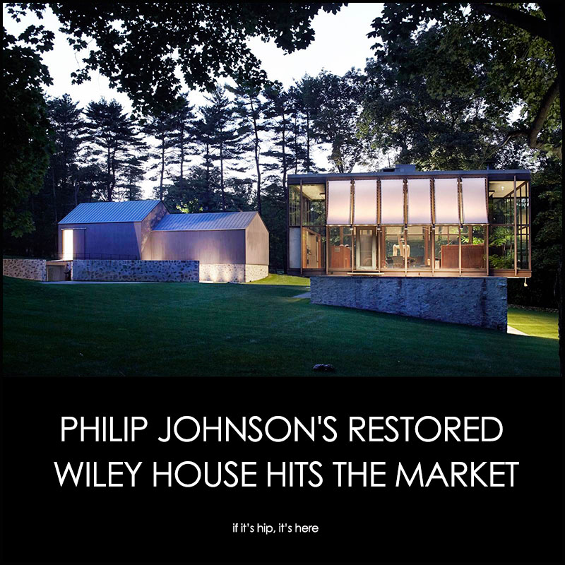 philip johnson wiley house