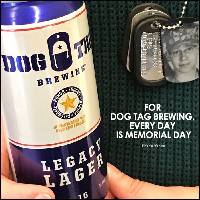 Dog Tag Brewing Legacy Lager