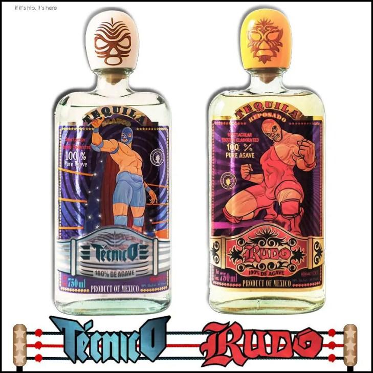 Rudo and Tecnico Tequila