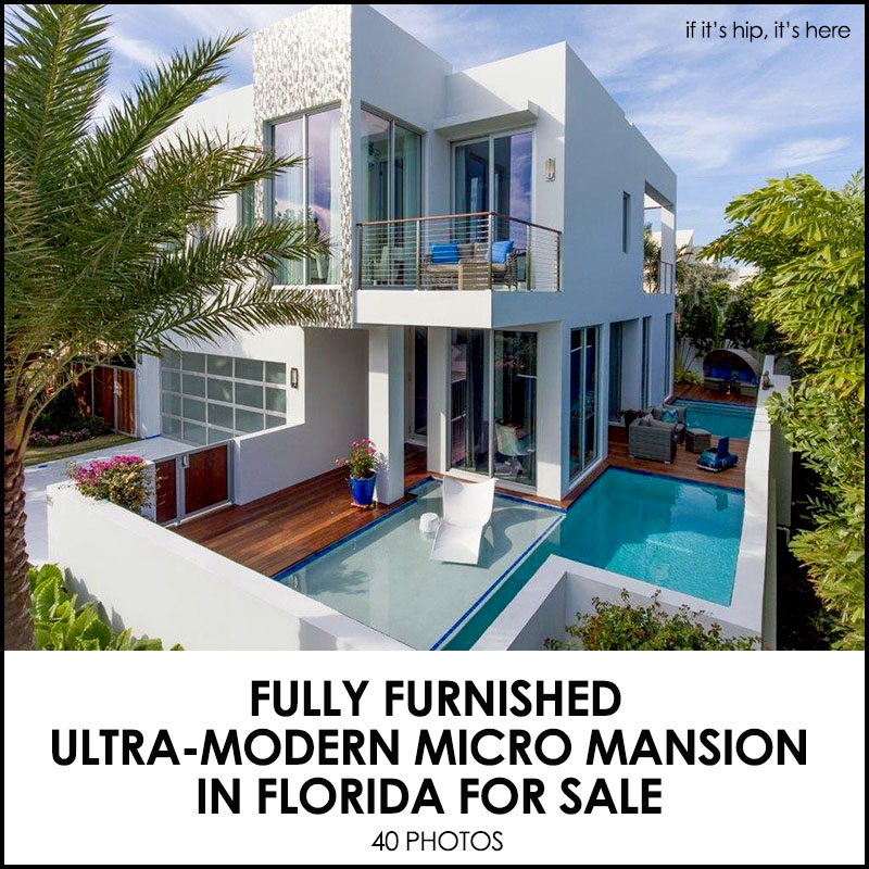 Frank Mckinney S Fully Furnished Micro Mansion In