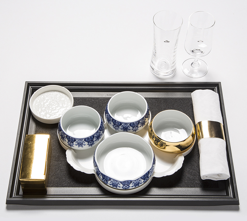 Indonesian tableware by Marcel Wanders for KLM World Business Class : world tableware - pezcame.com