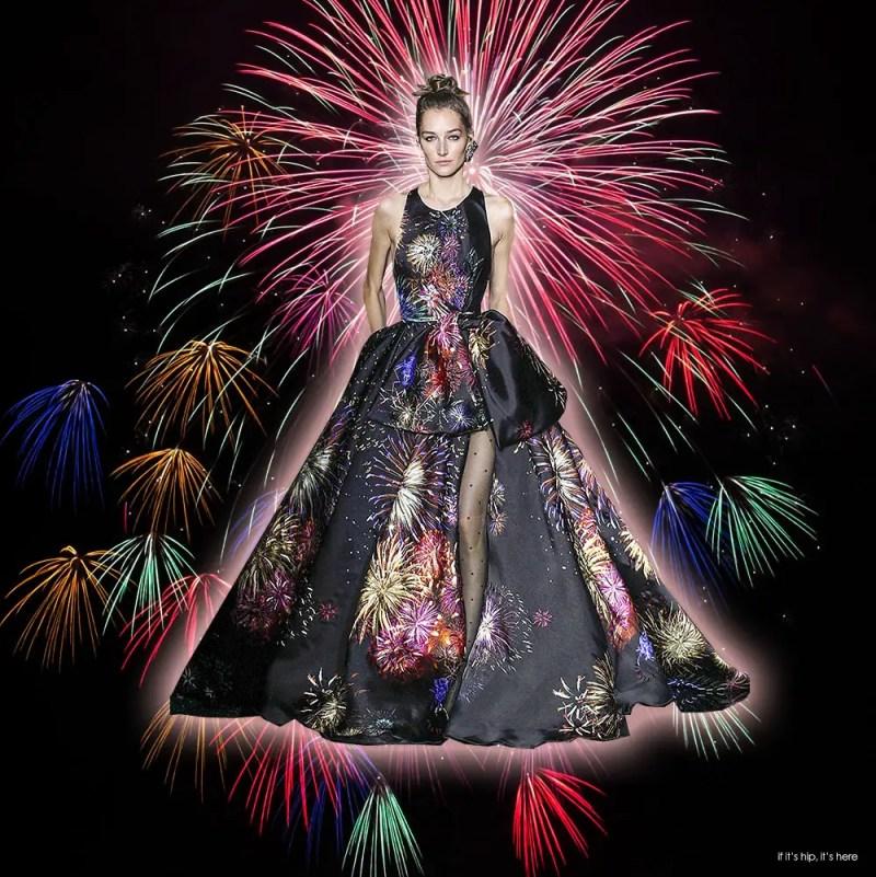 Zuhair Murad Fireworks Couture