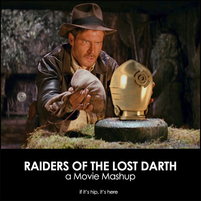 Raiders Of The Lost Darth Movie Mashup