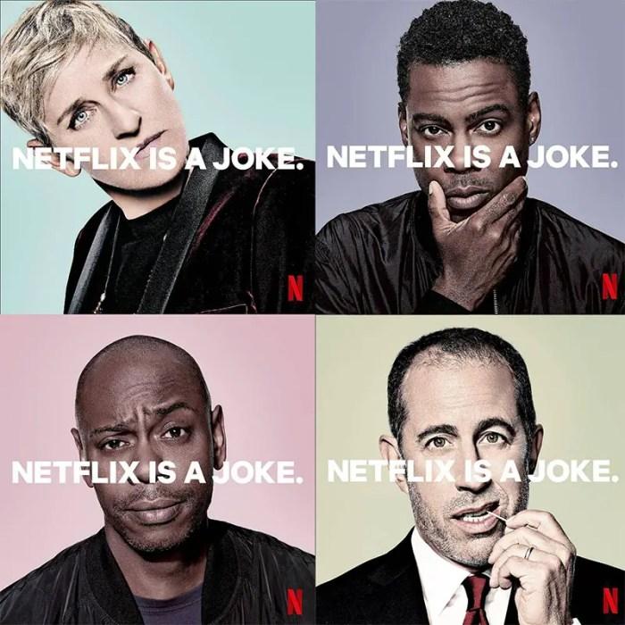 netflix is a joke ad campaign