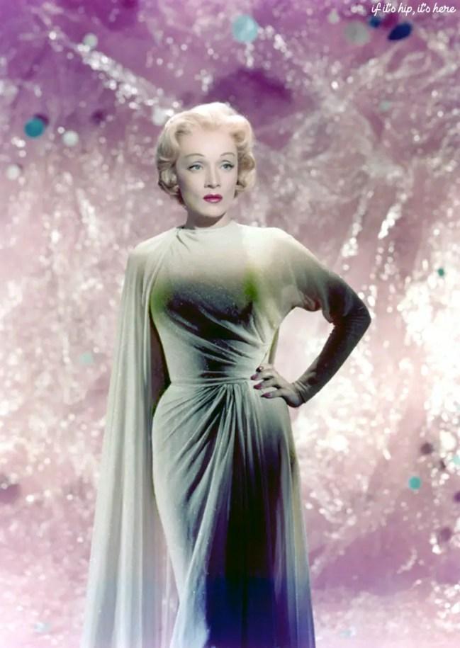 Vintage Color Christmas Celebrity Photos